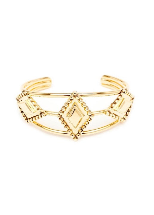 The Brooklyn Diamond Cuff