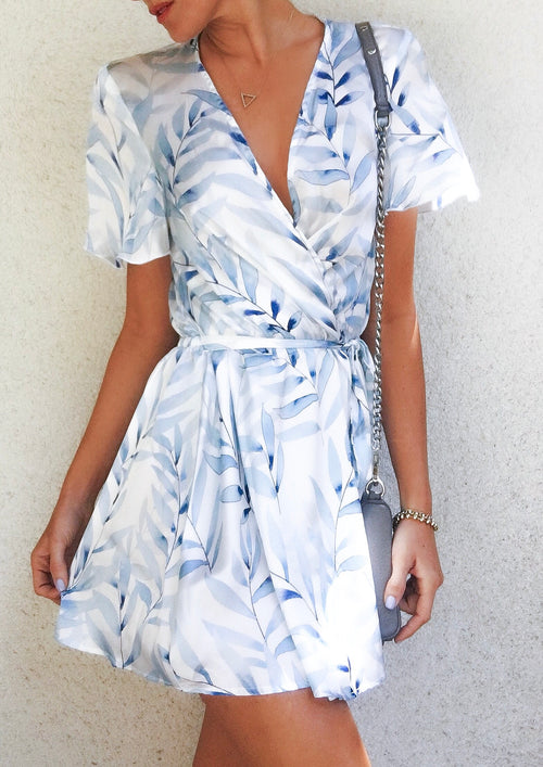 Whitney Wrap Dress