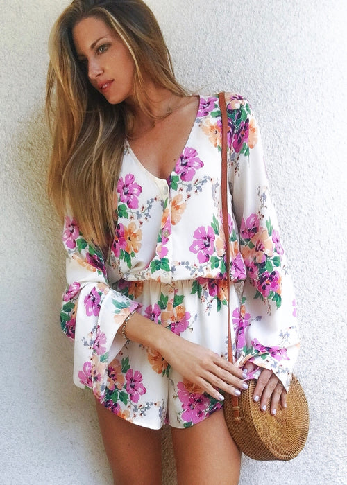 Red Rocks Romper