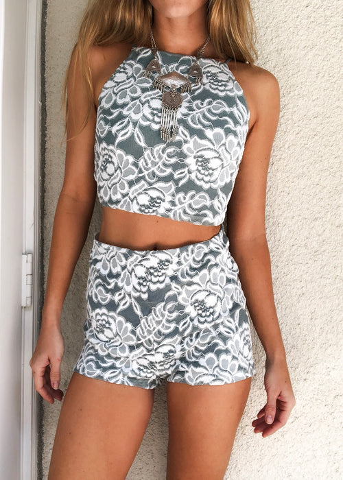 Havana Two Piece Shorts Set