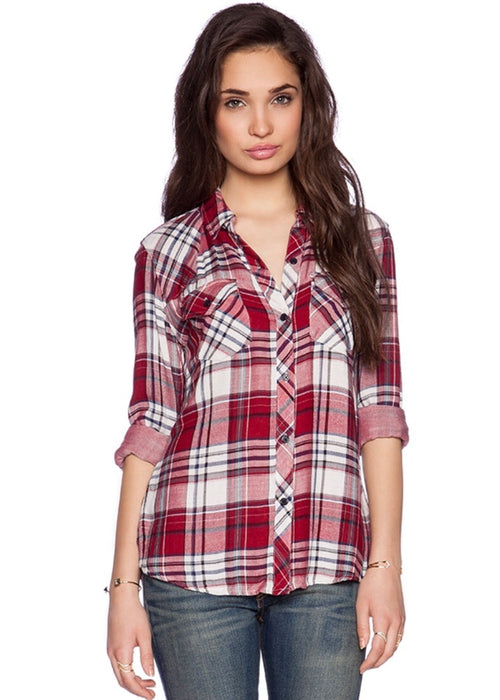 Kendra Button Down Flannel