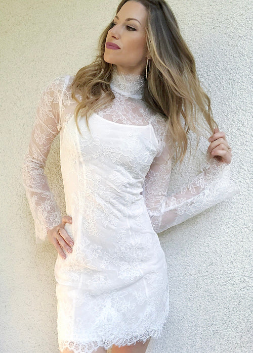 Kerr Mini Lace Dress