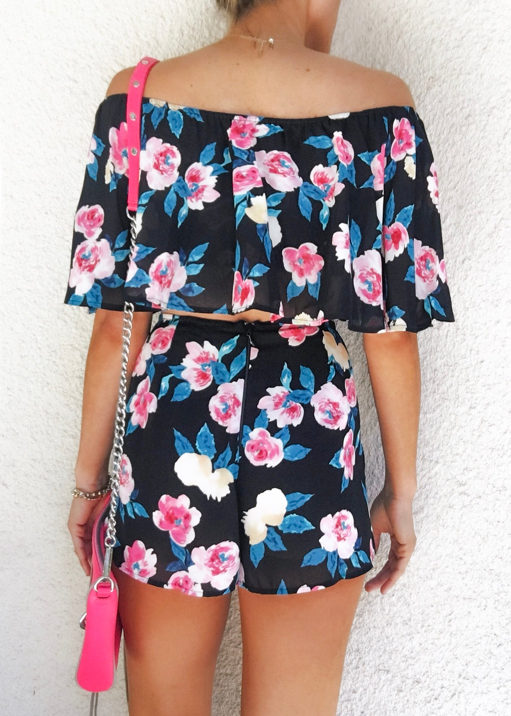 Monet Flower Two Piece Set