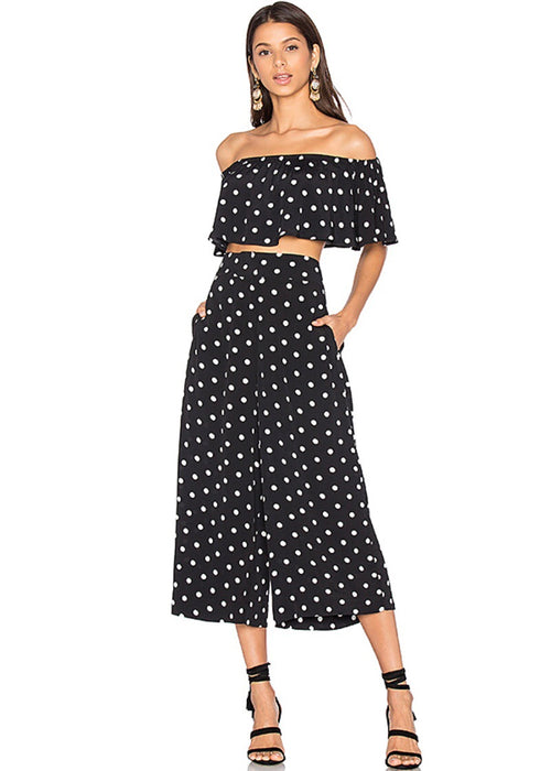 Polka Dot Pants Set