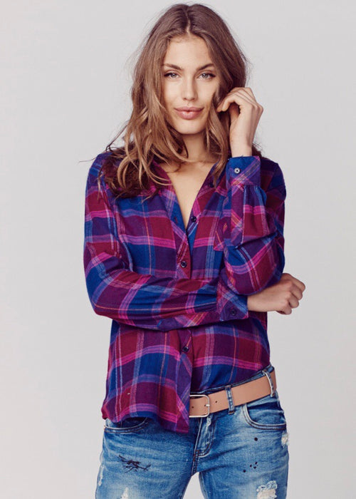 Danielle Button Down Flannel