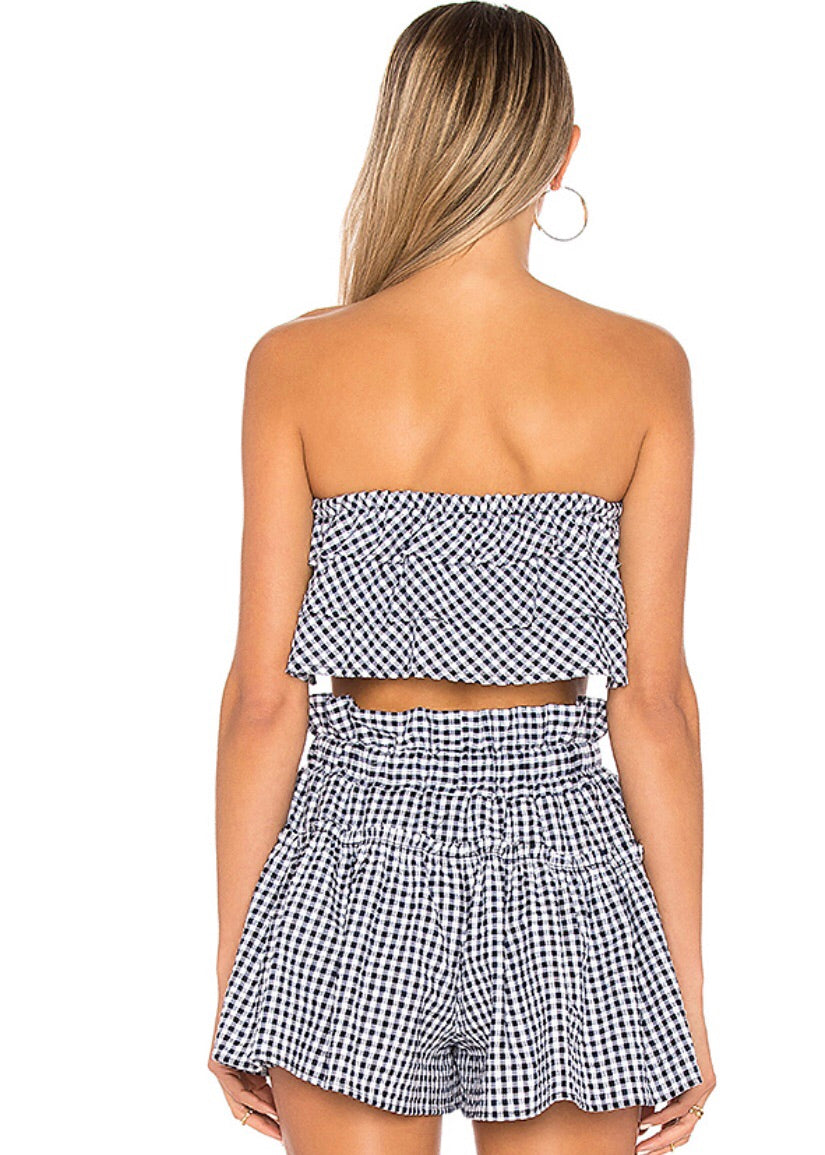Matching Cherie Gingham Set