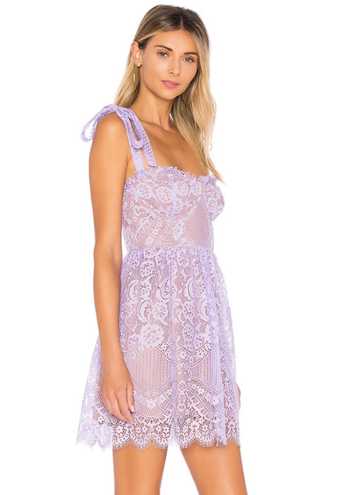 Valentina Lace Mini Dress