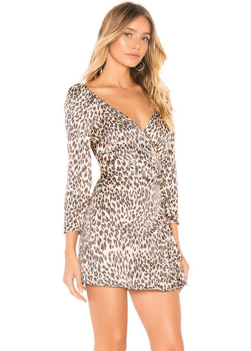 Melrose Mini Wrap Dress
