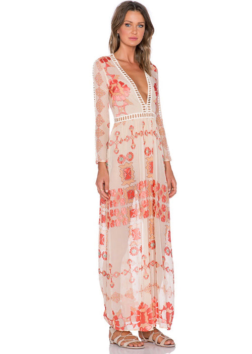 Barcelona Maxi Dress