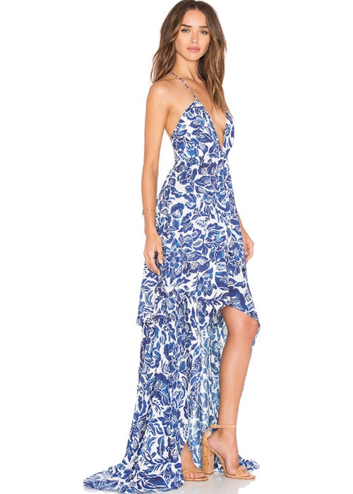 Indigo Jungle Maxi Dress