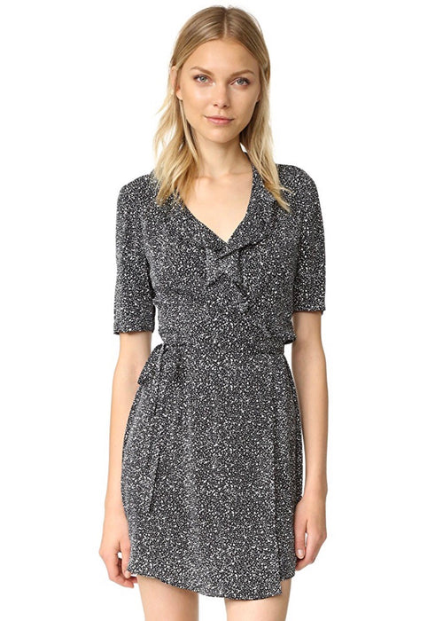 Savilla Silk Wrap Dress