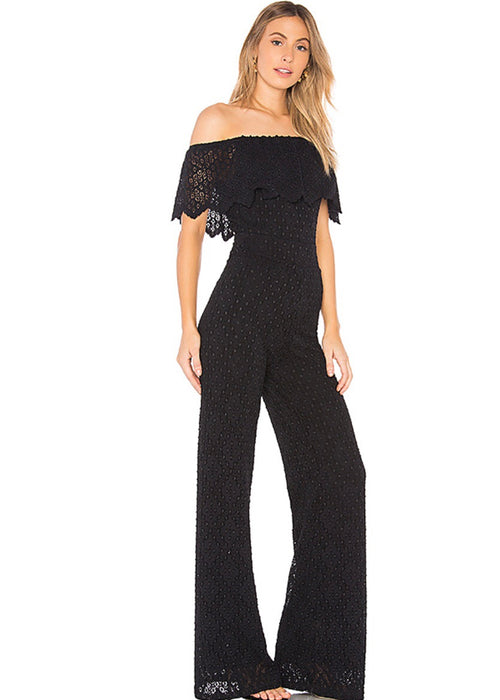 Diamond Lace Positano Jumpsuit