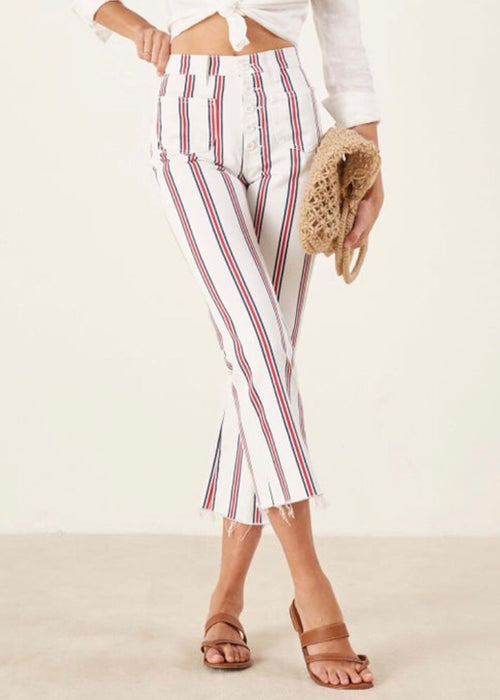 MacGraw Striped Jeans