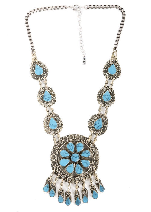 The Huntress Necklace - Turquoise