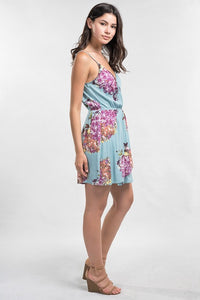 Lovestitch - Floral Printed Mini Dress - Sassy Girl Boutique NJ