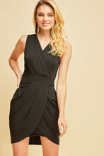 Entro - Surplice V-Neck Dress - Sassy Girl Boutique NJ