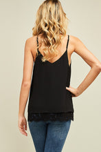 Entro - Lace Camisole Top - Sassy Girl Boutique NJ