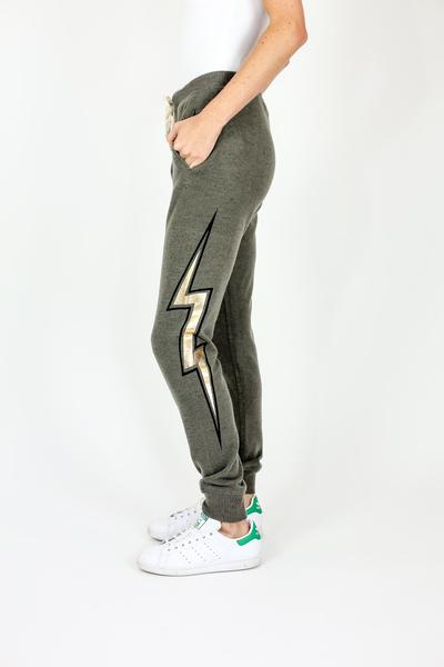 Six Fifty - Lightening Bolt Joggers - Sassy Girl Boutique NJ