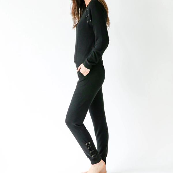 Six Fifty - Lace Up Broadway Jogger - Sassy Girl Boutique NJ