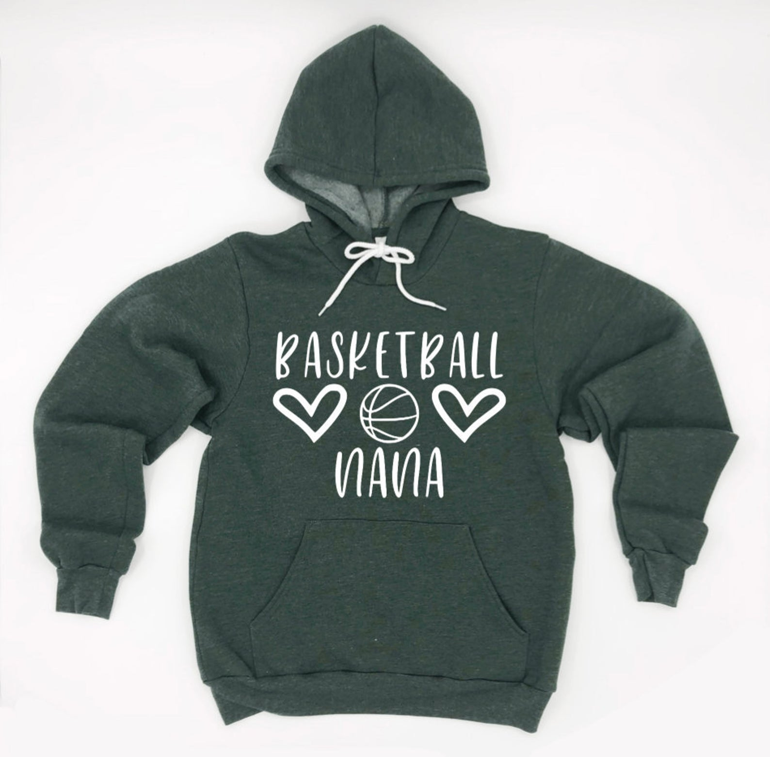 Basketball Nana Hoodie Pullover Sweatshirt - Nana Hoodie - Basketball Family Hoodies - Basketball Nana Sweatshirt - Gift For Nana