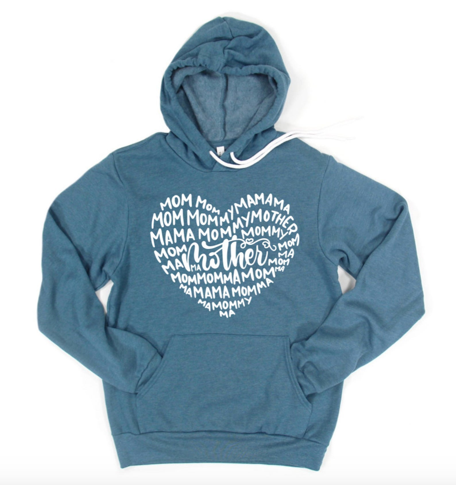 Mama Mom Mother Mommy Momma Hoodie Pullover Sweatshirt - Mom Hoodie - Gift For Mom - Mother's Day Gift - Best Mom Gift