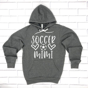 Soccer Mimi Hoodie Pullover Sweatshirt - Mimi Hoodie - Soccer Family Hoodies - Soccer Mimi Sweatshirt - Gift For Mimi
