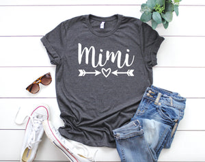 Mimi Shirt - Cute Mimi Shirt - Mimi Gifts - Customized Mimi Shirts - Grandma Shirts - Grandparents Shirts
