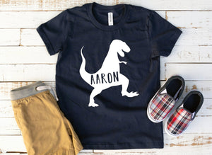 Personalized Toddler Dinosaur Shirt - Boys Dinosaur Shirt - Funny Boys T-shirts - Toddler Boys Shirt - Toddler Tees