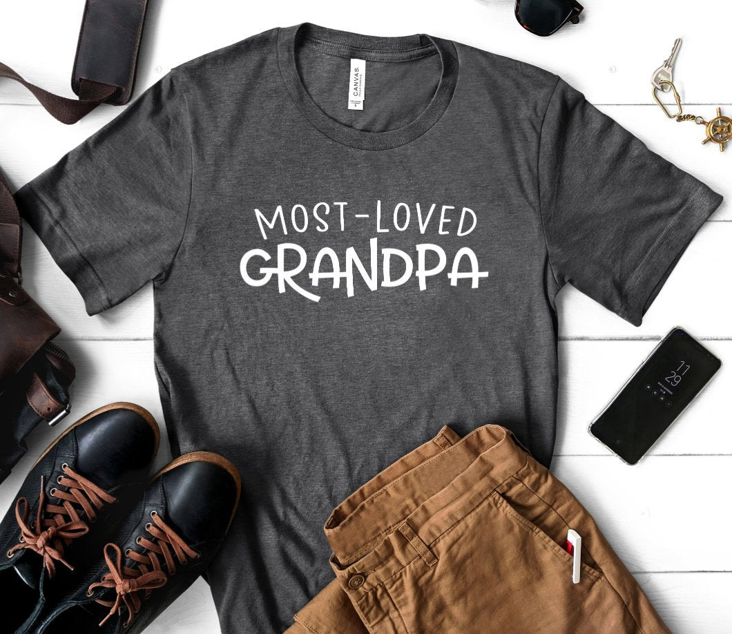 Most Loved Grandpa - Father's Day Gift for Grandpa