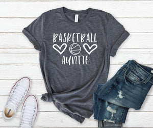 Basketball Auntie Unisex T-shirt