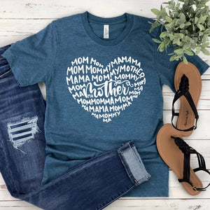 Mother Mom Mama Mommy Unisex T-shirt - Mom Shirt - Mama T-shirt - Mommy Tee - Gift for Mom - Mother