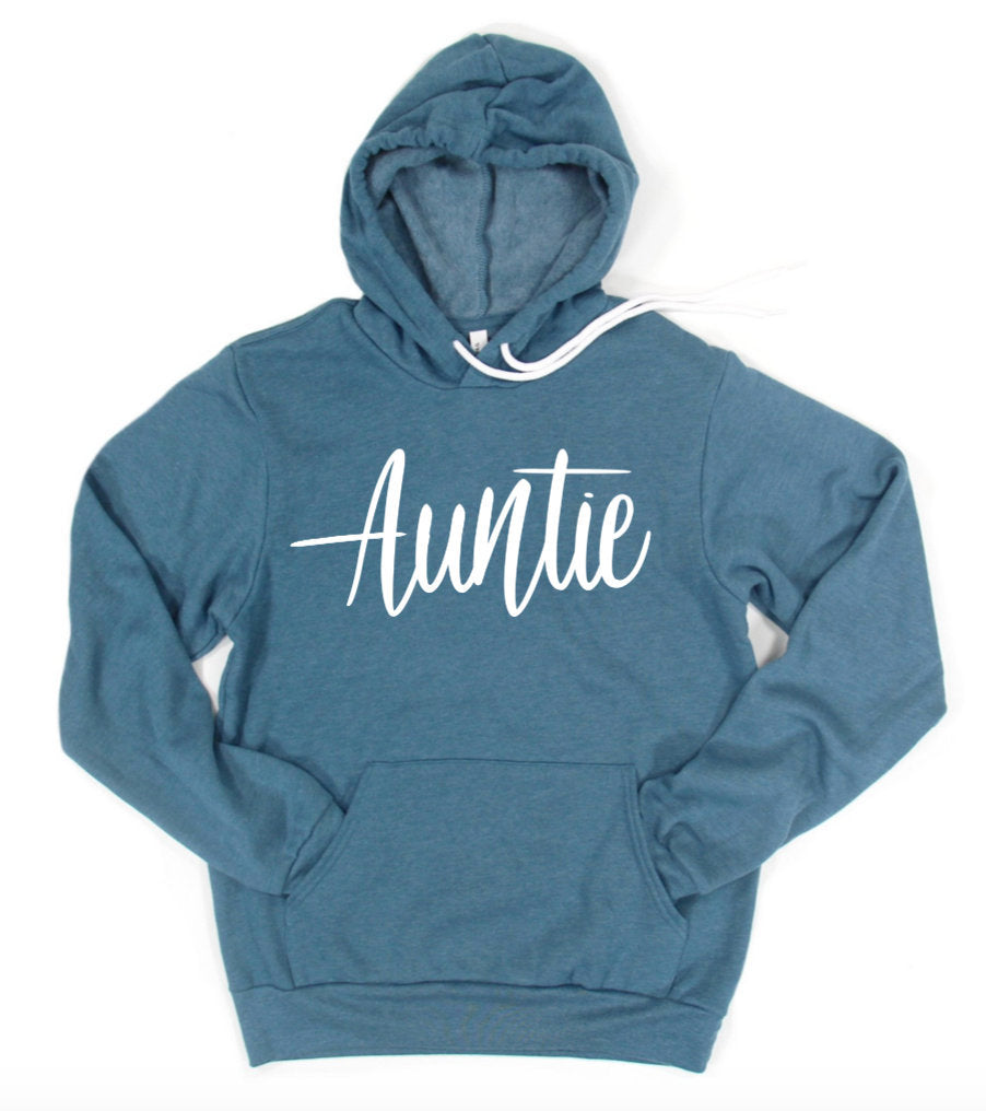 Auntie Hoodie Pullover Sweatshirt - Aunt Hoodie - Gift For Aunt - Christmas Gift - Aunt Life - BAE - Auntie T Shirt