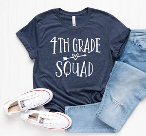 Fourth Grade Squad Unisex T-Shirt