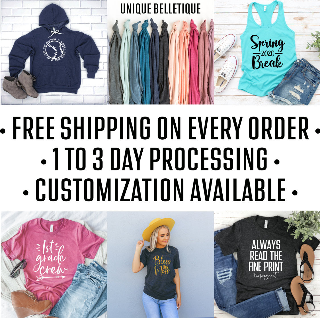 Customized Unisex Adult Crew Neck Sweatshirt - Custom Sweatshirt - Personalized Sweatshirt for Women
