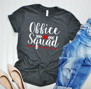 Office Squad T-shirt - Office Staff Shirt - Matching T-shirts - Secretary Shirts - Staff T-shirt