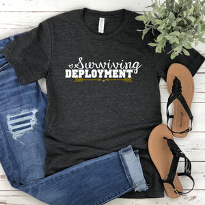 Surviving Deployment Army Wife Women's Unisex T-shirt