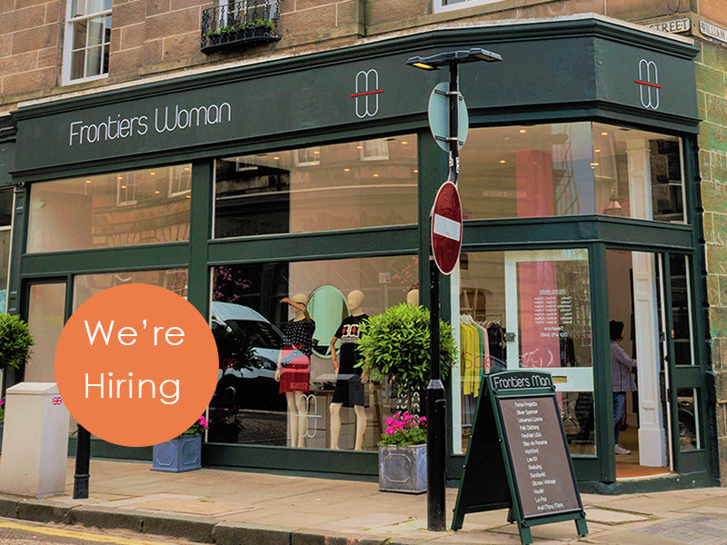 We're Hiring - Part Time