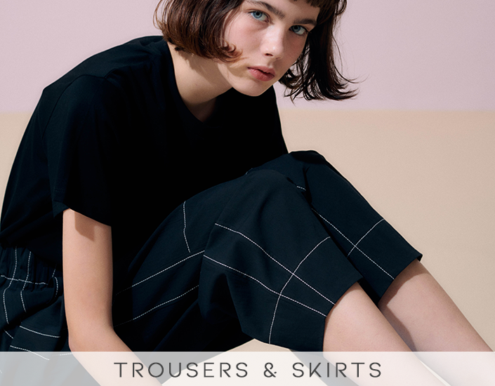 Trousers & Skirts at Frontiers Woman