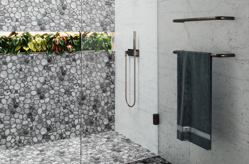 Plants on Niche | Bathroom Project | Shower Niche with Plants