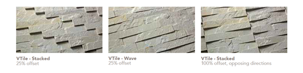 3d stone wall tile