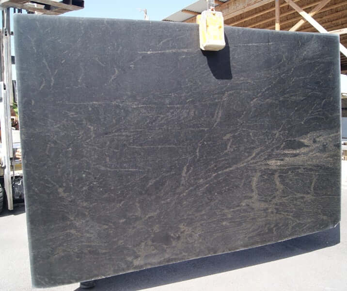 BLACK Granite leather 2cm thick- Slab Series