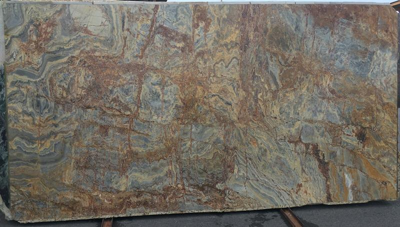 DESERT BAMBOO Quartzite polished  2cm thick - Slab Series