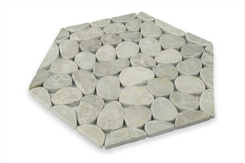 STERLING GREY, HONEYCOMB COBBLES - Island, Random Series