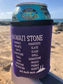 HAWAI'I STONE KOOZIE Purple Guys- Hawai'i Stone Fashion