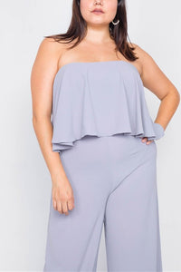 Grape Popsicle Plus Size Jumpsuit