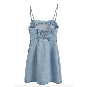 Denim Casual Dress