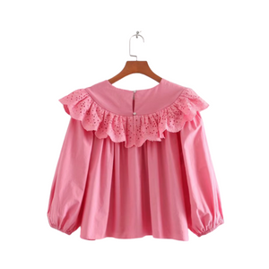 Pink Lemonade Retro Top