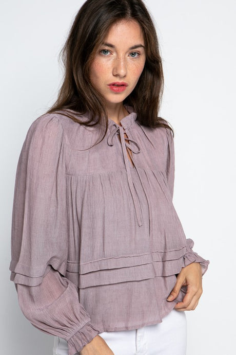 Mauve Magic Top