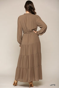 Rustic Ranch Maxi Dress