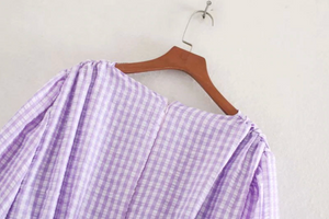 Grape Jelly Mini Dress